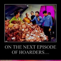Star Trek laughs...