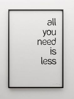 less by barefootheart, via Flickr