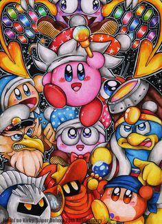 Hoshi no Kirby : Super Deluxe 20th Anniversary by Halgalaz.deviantart.com on @DeviantArt