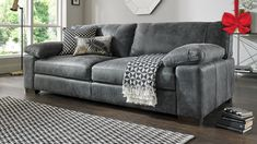 Grey or dark grey leather couch like this is nice 2019 Grey or dark grey leather couch like this is nice The post Grey or dark grey leather couch like this is nice 2019 appeared first on Sofa ideas. Brown Leather Sofa Bed, Leather Sofas Uk, Leather Corner Sofa, Best Leather Sofa, Leather Fabric, Black Leather Sofa Living Room, Grey Leather Sectional, Living Room Grey, Living Room Sofa