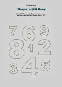 belajar bilangan 1 sd, angka ganjil & genap untuk anak Sd, Kids And Parenting