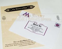 Harry Potter Ministry of Magic Stationary