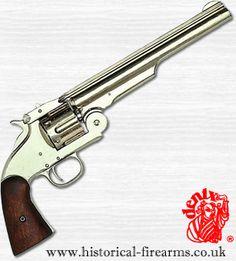 Smith & Wesson Revolver, USA, 1869 - Nickel