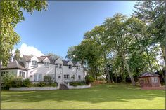 Kinkell House Hotel, Black Isle Golf Courses, Restaurant, Mansions, House Styles, Places, Home Decor, Decoration Home, Room Decor, Fancy Houses