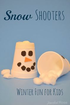 Snow Shooters - pinned by @PediaStaff – Please Visit  ht.ly/63sNt for all our pediatric therapy pins