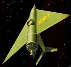 1956 ... into space!