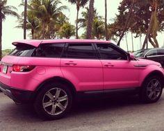 Pink SUV