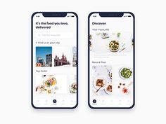 Food Order App Exploration by Hashan  - Dribbble