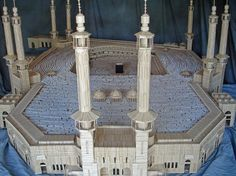 Kaaba Toothpick Sculpture by Stan Munro  epicr.com