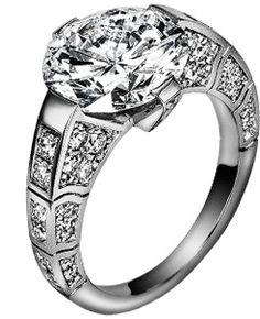 Limelight engagement ring G34L5600  White gold, diamonds