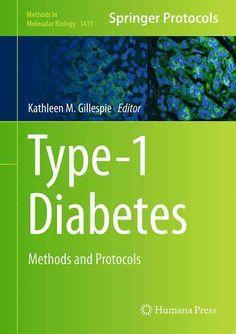 Type-1 Diabetes: Methods and Protocols
