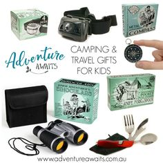 Unique & affordable travel gifts for your little adventurers. #travelgifts #travel Kids Travel Journal, Fun Card Games, Travel Gifts, Adventure Awaits, Travel With Kids, Time Travel, Caravan, Gifts For Kids, Merry