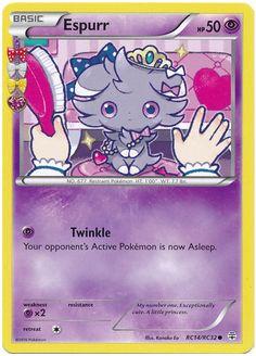 Espurr RC14/RC32 Pokemon TCG: Generations Radiant Collection Pokemon Card