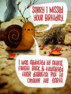 Was It Your Birthday Belated Card Funny Cards