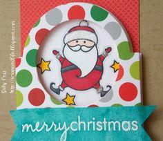 Navidad! Scrap and life Reto para Sweet Card Club