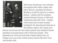 "1940: making of ""Sgt. York"""