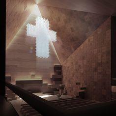 CEBRA: new church of valer, norway