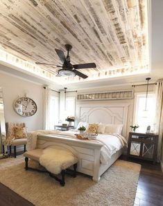 32 Best Modern Farmhouse Bedroom Remodel Ideas