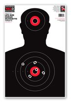 HALO Life-Size Human Silhouette Reactive Shooting Targets by Thompson