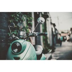 Two wheels are better then four. #moped #vespa #twowheels #photooftheday #downtown by snordh