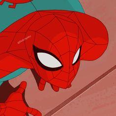 Spiderman Man, Amazing Spiderman, Best Marvel Characters, Mundo Marvel, Dark Drawings, Man Icon, Marvel Comics Art, Cartoon Icons, Spider Verse