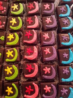 Eid Mubarak themed Chocolate Petit Fours by Charly's Bakery, via Flickr