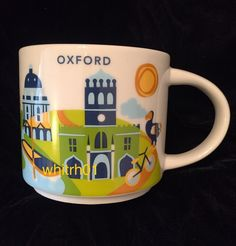 Starbucks Oxford YAH Mug University Dodo Bird Cup You Are Here England UK | Collectibles, Advertising, Food & Beverage | eBay!
