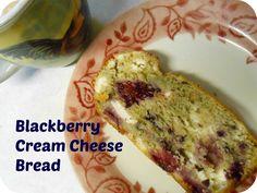 The Better Baker: Blackberry Cream Cheese Bread