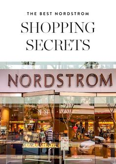 Discover the best Nordstrom shopping perks. Happy shopping, gals.