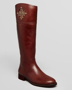 Yo... who's got $500 for me to get these beauties? | Tory Burch Riding Boots - Kiernan Flat | Bloomingdale's