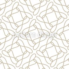 One Line Loop Repeating Pattern by Galyna Tymonko at patterndesigns.com Vector Pattern, Pattern Design, Line Patterns, Repeating Patterns, Flourish, Swirls, Your Design, Shapes