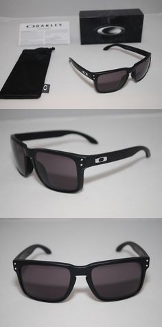 e3a8222abc66 ... coupon for sport protective eyewear 158938 2015 oakley holbrook  sunglasses matte black frame warm grey lens