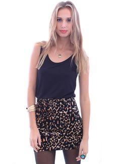 leopard dress, mink pink
