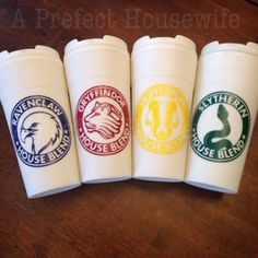 Hogwarts House Mascot white travel mug by APrefectHousewife Estilo Harry Potter, Mug Crafts, Hogwarts Houses, Mischief Managed, Needful Things, Ravenclaw, Friend Birthday, Coffee Cups, Vinyl Decals