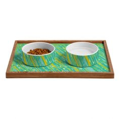 Rosie Brown April Showers Pet Bowl and Tray | DENY Designs Home Accessories #bowl #tray #pets #dog #cat #art #denydesigns
