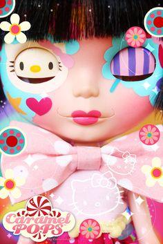 Hello Candy Kitty Blythe