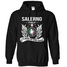 Salerno - Its Where My Story Begins! - #hoodie with sayings #sweatshirt blanket. LIMITED TIME PRICE => https://www.sunfrog.com/No-Category/Salerno--Its-Where-My-Story-Begins-3135-Black-Hoodie.html?68278