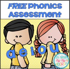 Visit this site to learn more!! Use these FREE Phonics Assessments to help identify student needs. Build your lessons around areas they need reinforced. This packet has: A student record keeping page The assessments include: Onset and Rime
