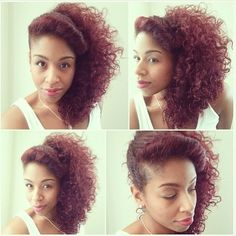 Gorgeous color and curls