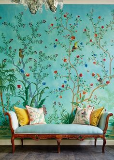 Aquazzura for de Gournay, Take Two