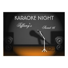 1000 images about karaoke birthday party invitations on pinterest