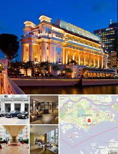 L'hôtel jouit d'un emplacement privilégié au cœur du quartier administratif de Singapour, à Raffles Place, dans le quartier des finances et des affaires de la ville, à 25 min de l'aéroport international de Changi et à 20 min (avec les transports) du parc des expositions de Singapour. Il se trouve également à 5-10 min à pied du quartier des divertissements situé sur les berges du fleuve abritant de hauts lieux de la culture, dont le Victoria Theatre, Concert Hall, les théâtres de l'Esplanade…
