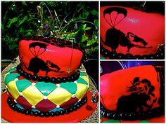 banksy Rat-tastic cake by The Ladygloom, via Flickr