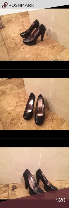 c1eaf47a360 Shop Women s Calvin Klein Black size Platforms at a discounted price at  Poshmark.