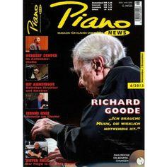 Richard Goode im Magazin PIANO NEWS 6/2013 - die Zeitschrift für Klavier , Piano und Flügel - hier versandkostenfrei bestellen