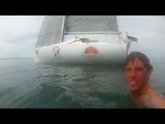 Moments forts en mer avant la Mini Transat - Tanguy Le Turquais sur Terreal - YouTube