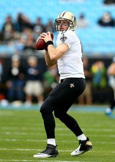 Drew Brees - New Orleans Saints v Carolina Panthers