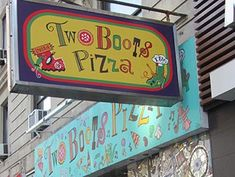 Two Boots Pizza em Nova York