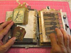 Guest DT Team Journal for Ephemera's Vintage Garden - YouTube