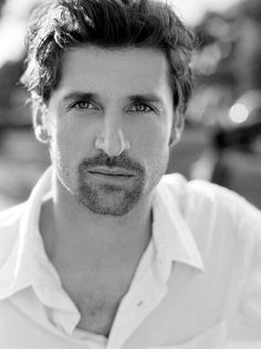 Patrick Dempsey-- I never think facial hair looks good---I guess hes just that sexy Patrick Dempsey, Patrick Jane, Hot Actors, Actors & Actresses, Pretty People, Beautiful People, Hot Guys, Actrices Hollywood, Portraits